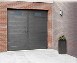 Porte De Garage Battante Aluminium - Porte de garage battante