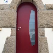 Porte d'entrée aluminium BELM hennebont