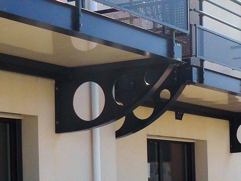 Garde-corps en aluminium