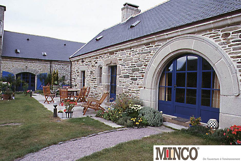 Fenêtres Mixtes Bois-Aluminium réalisées à Auray