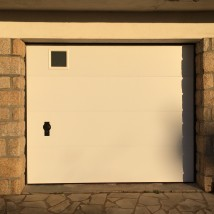 porte de garage refoulement plafond vannes