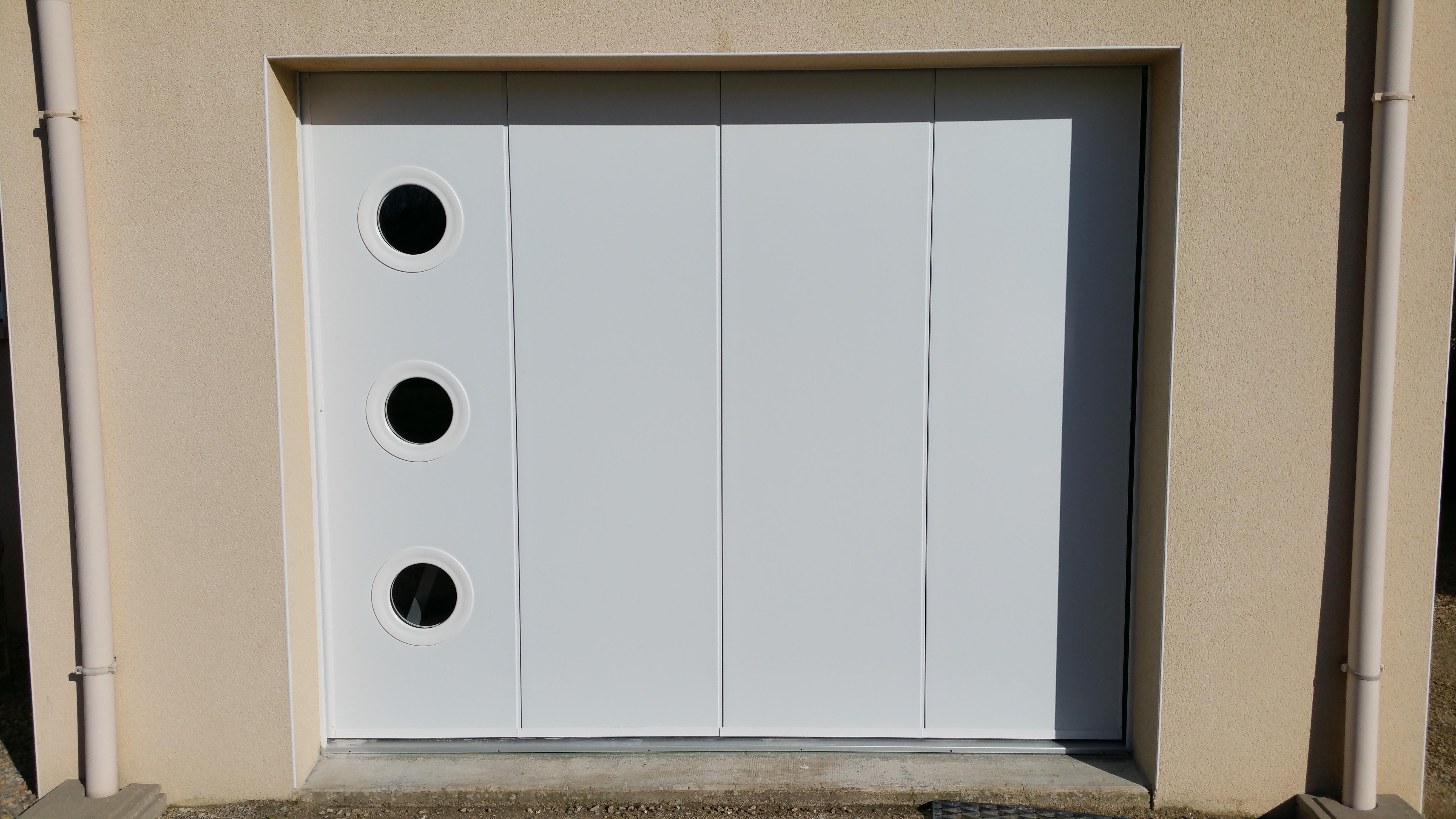 Porte de garage déplacement latéral à Auray