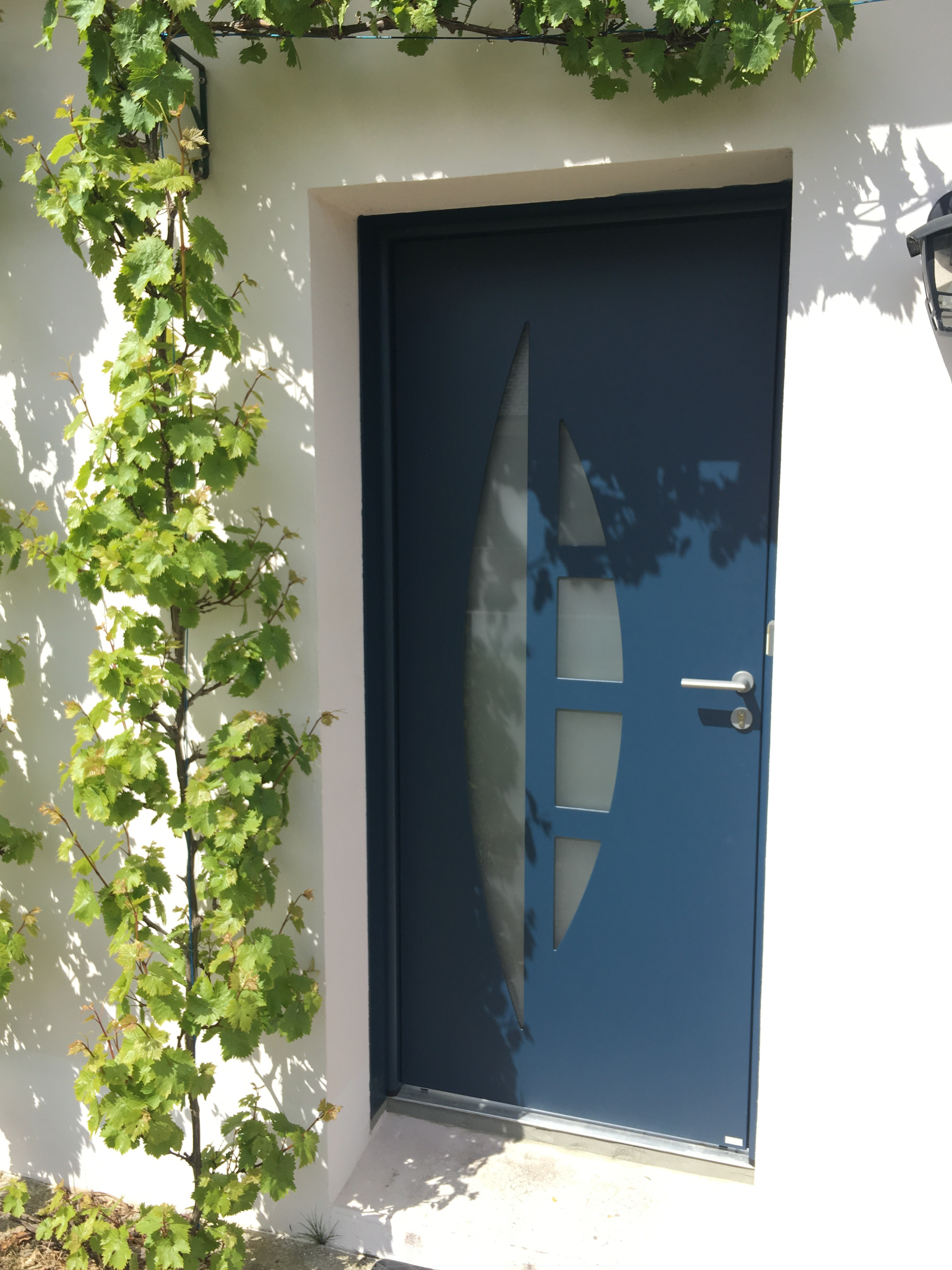 Porte d entr e bel m r alis e brech aluminium56 - Barillet porte d entree ...