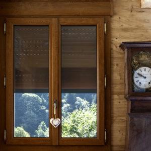Fenêtre PVC décor bois